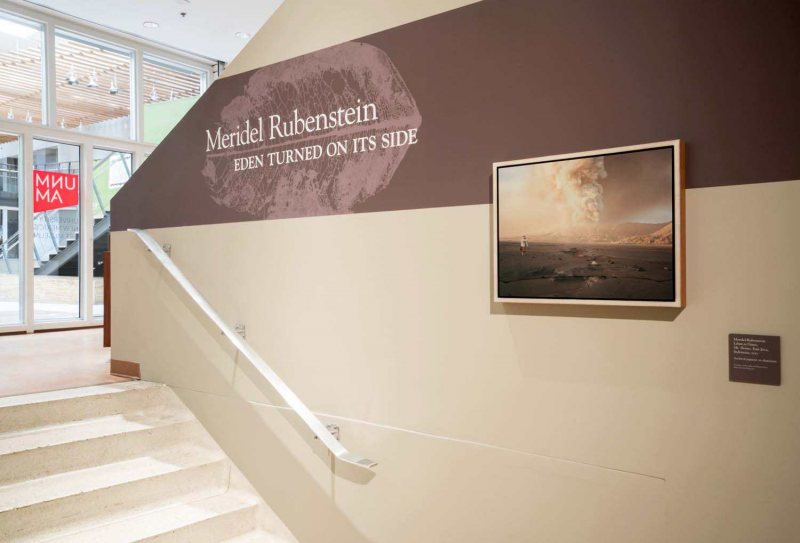 University of New Mexico Art Museum Eden Turned On Its Side Full Gallery Exhibition