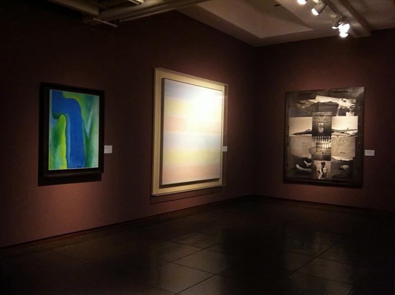 New Mexico Museum of Art Exhibition 2015 Georgia O'Keefe Agnes Martin Meridel Rubenstein