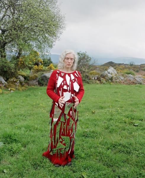 BERNADETTE AS ST. GOUBNAIT, BALLEYVORNEY, IRELAND,2006