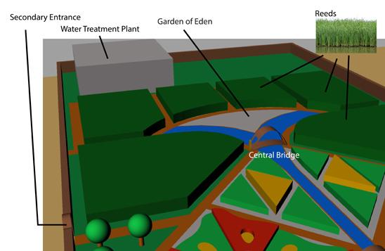 Garden of Eden detail